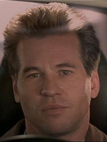 Val Kilmer at the end of The Saint movie