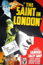 The Saint in London movie poster #2