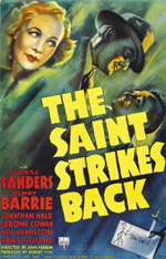 The Saint Strikes Back movie poster