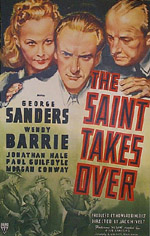 The Saint Takes Over movie poster