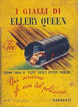 1952 Italian edition of Ellery Queen Mystery Magazine