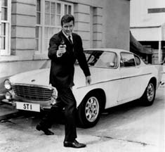 Saint Roger Moore with Volvo